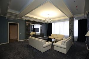 Гостиная зона в Отель «1000 и 1 ночь»