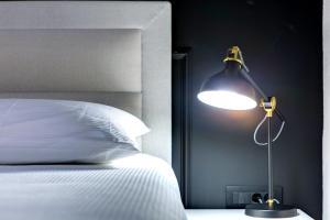 Cama o camas de una habitación en Guest House Forty-Four