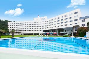 The swimming pool at or near Hotel Izukyu