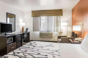 A television and/or entertainment center at Sleep Inn North Liberty/Coralville