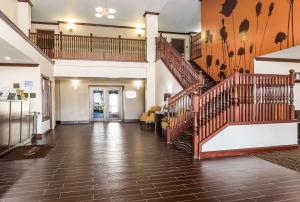 The lobby or reception area at Sleep Inn North Liberty/Coralville