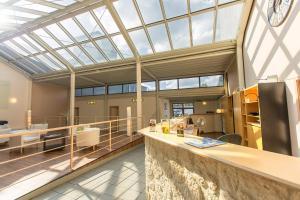 The lobby or reception area at T3 Hotel Cityloft