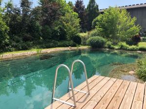 Der Swimmingpool an oder in der Nähe von Hotel Garni Landhaus Florian