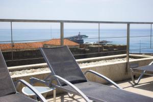 A balcony or terrace at Hotel Boa - Vista