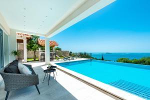 The swimming pool at or close to Villa Vesna