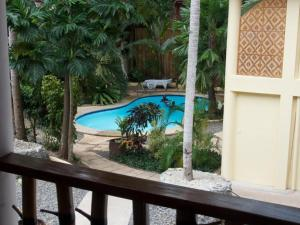 A view of the pool at Alona Vida Beach Resort or nearby