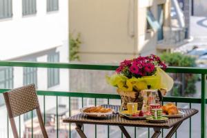 Ein Balkon oder eine Terrasse in der Unterkunft Casa Vacanze Isophylla