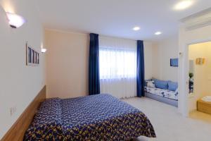 Ein Bett oder Betten in einem Zimmer der Unterkunft Casa Vacanze Isophylla