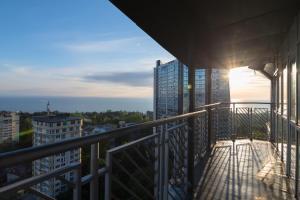 Балкон или терраса в Apartamienty Riviera Plaza