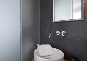 Ein Badezimmer in der Unterkunft Faktorei