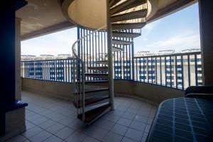 A balcony or terrace at Patacona Resort Apartments