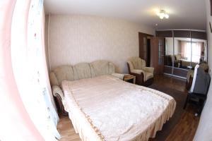 Кровать или кровати в номере Apartment Andrey