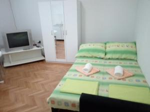 Krevet ili kreveti u jedinici u okviru objekta Hostel Corner 021