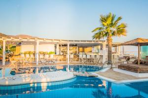 The swimming pool at or near Parthenis Beach, Suites by the Sea