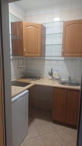 Kuchnia lub aneks kuchenny w obiekcie Dworek Mitro