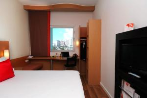 A television and/or entertainment center at Ibis Tanger City Center