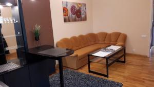 A seating area at Minhauzena Unda
