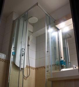 Salle de bains dans l'établissement Villa Martégale Hôtel Restaurant