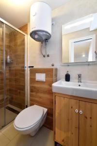 Kupaonica u objektu Hostel Temza