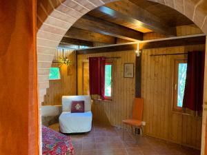 Area soggiorno di Meditation center Osho Sammasati