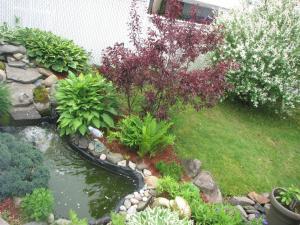 Сад в Magnolia B&B