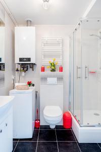 Łazienka w obiekcie Tulip-Apartments - Jagiellońska 24 poddasze bez windy