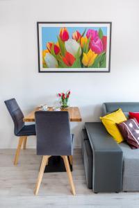 Część wypoczynkowa w obiekcie Tulip-Apartments - Jagiellońska 24 poddasze bez windy