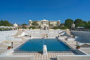 The swimming pool at or near Nahargarh Ranthambhore