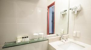 A bathroom at Hotel Prince Seoul
