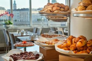 Breakfast options available to guests at Hilton Stockholm Slussen Hotel