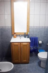 A bathroom at Retiro dos Cabritos
