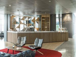 The lobby or reception area at Radisson Blu Airport Hotel, Oslo Gardermoen