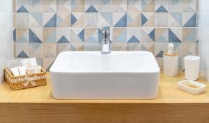 A bathroom at Damè
