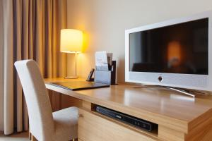 A television and/or entertainment center at A-ROSA Sylt