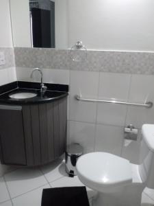 A bathroom at Hotel Bellagio