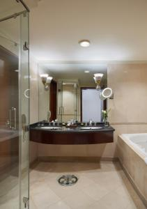 A bathroom at Grand Nile Tower