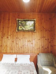 Кровать или кровати в номере Отель «Берег Мечты»