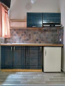 Η κουζίνα ή μικρή κουζίνα στο Ξενοδοχείο Λείβηθρα
