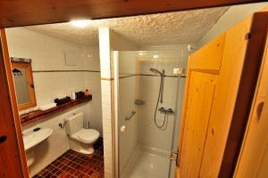 Ein Badezimmer in der Unterkunft Herberge an der Nikolauszeche