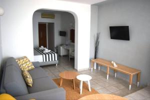 Χώρος καθιστικού στο Hotel Akti Ouranoupoli Beach Resort