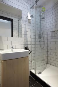 A bathroom at Generator Berlin Mitte