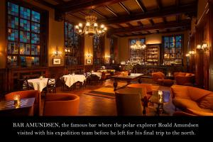 A restaurant or other place to eat at Grand Hotel Terminus