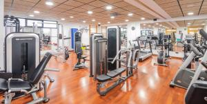 The fitness center and/or fitness facilities at Isla Mallorca & Spa