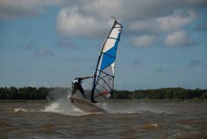Windsurfing w domu wakacyjnym lub w pobliżu