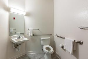 A bathroom at Motel 6-Caseyville, IL - Caseyville Il
