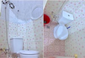 A bathroom at Ais'G Homestay