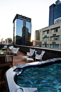 The swimming pool at or near Ovolo Laneways