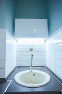Ванная комната в Apartments on Kaliningradskii prospect