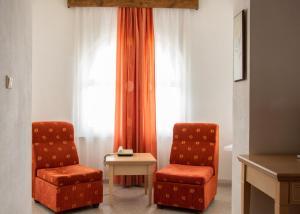 O zonă de relaxare la Bellevue Hotel