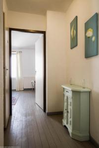 Salle de bains dans l'établissement Gîte La Saônoise